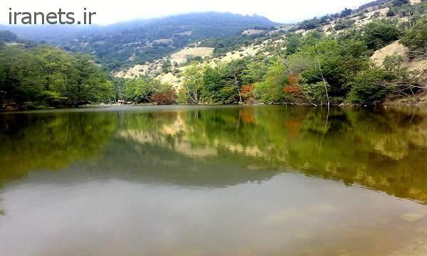دریاچه شورمست پاییز