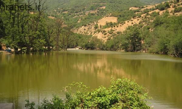 دریاچه شورمست تابستان
