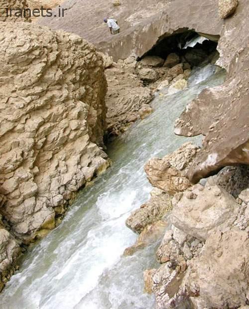 غار چما رودخانه