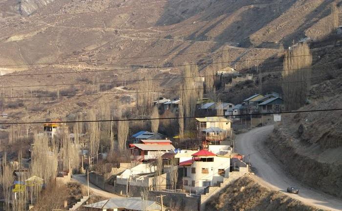 روستای آبگرم لاریجان