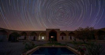 کاروانسرای قصر بهرام شهاب باران