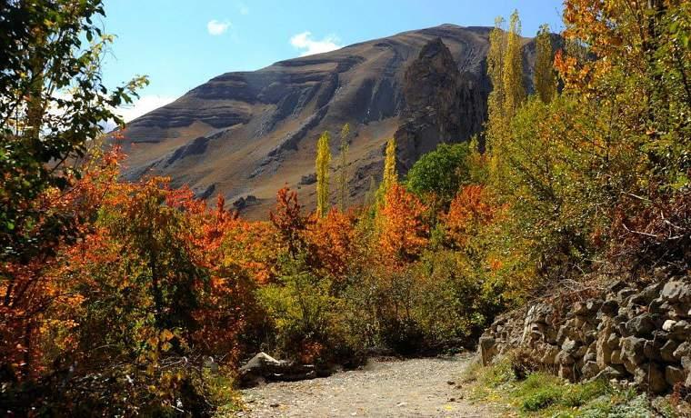 روستای شهرستانک پاییز