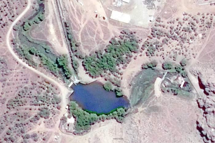 چشمه گاماسیاب نقشه هوایی