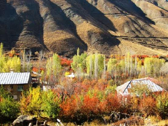 روستای شهرستانک رنگارنگ