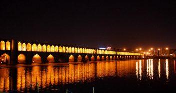 سی و سه پل اصفهان شاهکار معماری ایران