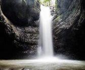 آبشار ویسادار نگین جنگل های رضوانشهر